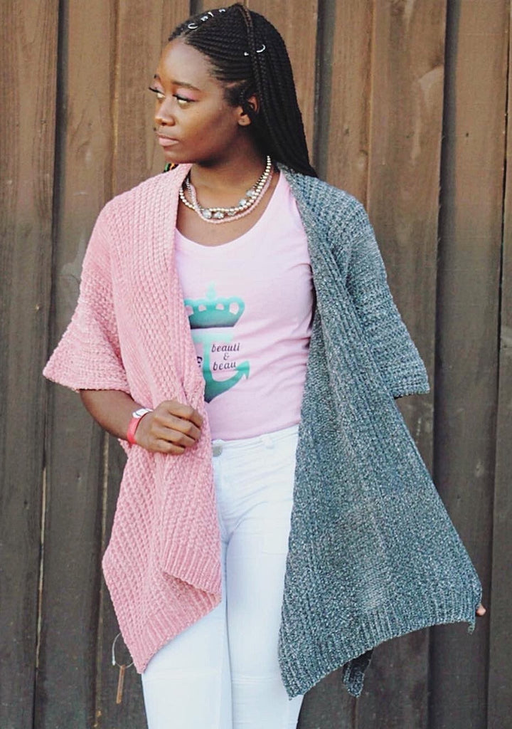 50/50 Sweater Cardi - TRUE.