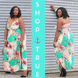 TRUE+ ~ Eden Multicolor Maxi Dress - TRUE.