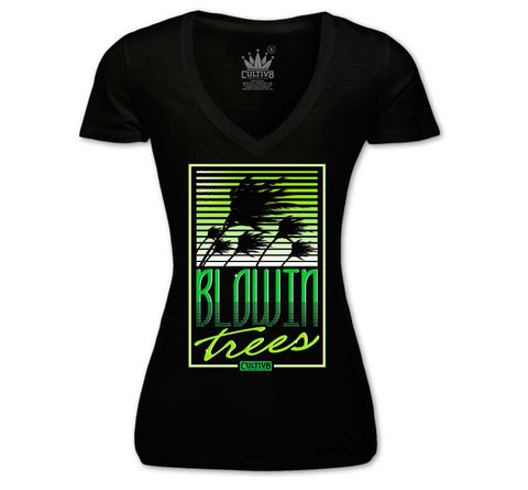 BLOWIN TREES WOMEN'S V-NECK