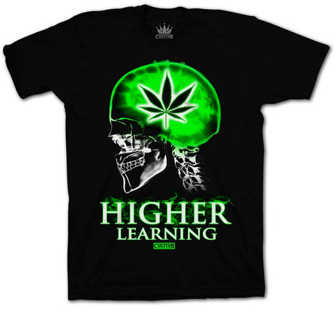 HIGHER LEARNING TEE - GREEN