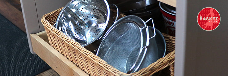 Turn Your Old Kitchen Cabinets into Pull-Out Basket Drawers