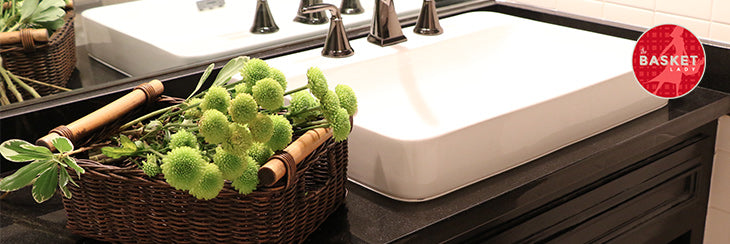 Decorating Your Bathroom With Wicker Baskets