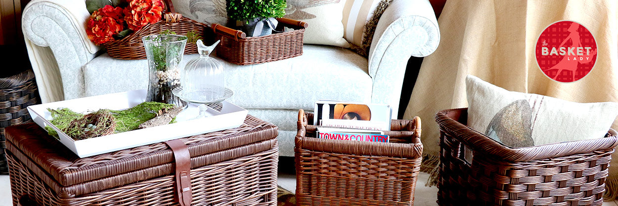 43 WAYS TO USE WICKER STORAGE CONTAINERS TO ORGANIZE YOUR HOME