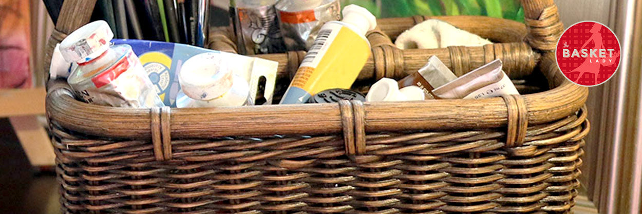 PERSONALIZING YOUR WICKER STORAGE CONTAINERS