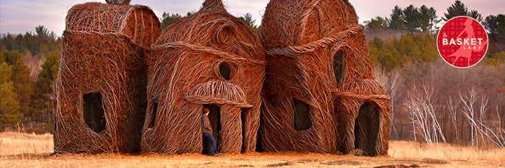 APRIL FOOLS! CREATED BY ARTIST PATRICK DOUGHERTY