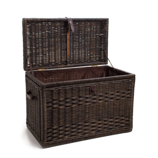 Wicker Storage Trunk Wicker Chest The Basket Lady