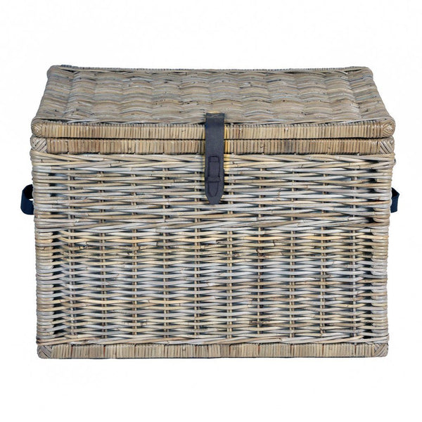 Deep Kubu Wicker Storage Trunk
