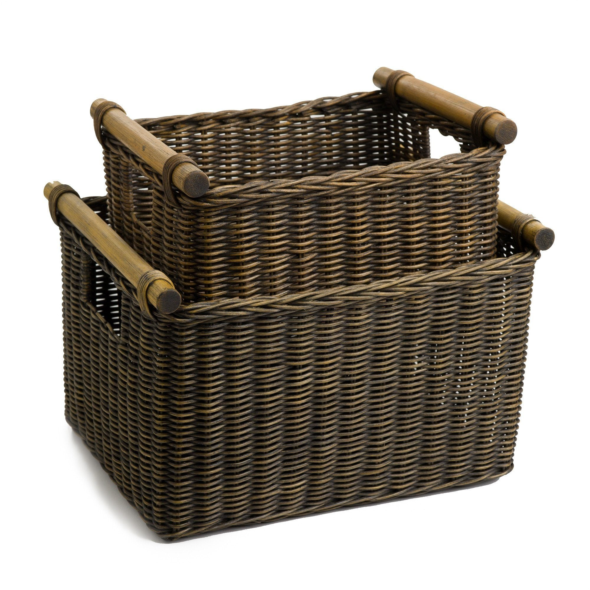 Merveilleux The Basket Lady Deep Wicker DVD Or Paper Basket ...