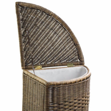 Fabric Liner For Corner Wicker Laundry Hamper