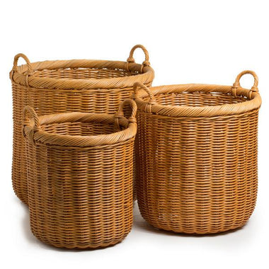wicker willow b hamper storage s decor oval decorative ebay traditional baskets with easter bn handle basket