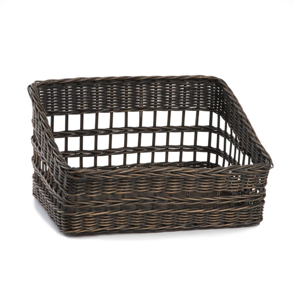 kitchen storage baskets kitchen pantry wicker baskets and storage solutions the 3119