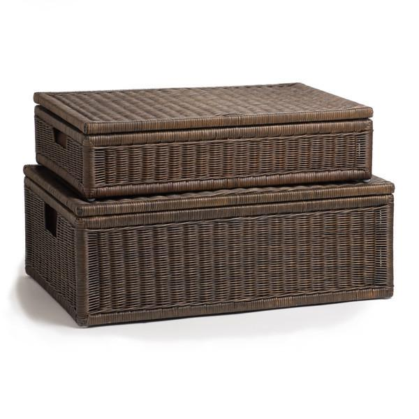 Under bed Wicker Storage Basket Bedroom Storage | Basket Lady - The ...