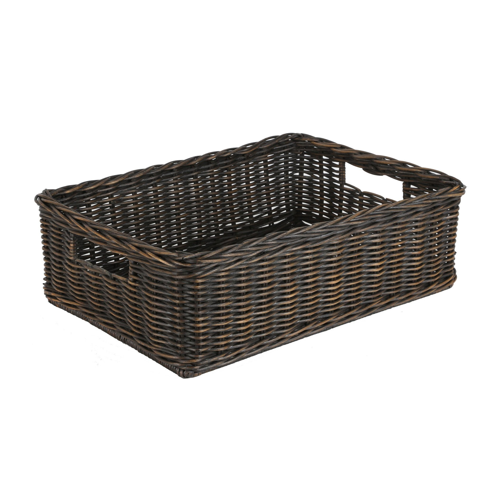 Kitchen Pantry Wicker Baskets And Storage Solutions The