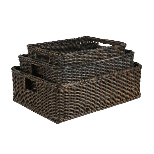 Wicker Underbed Storage Baskets Bins Amp Containers The
