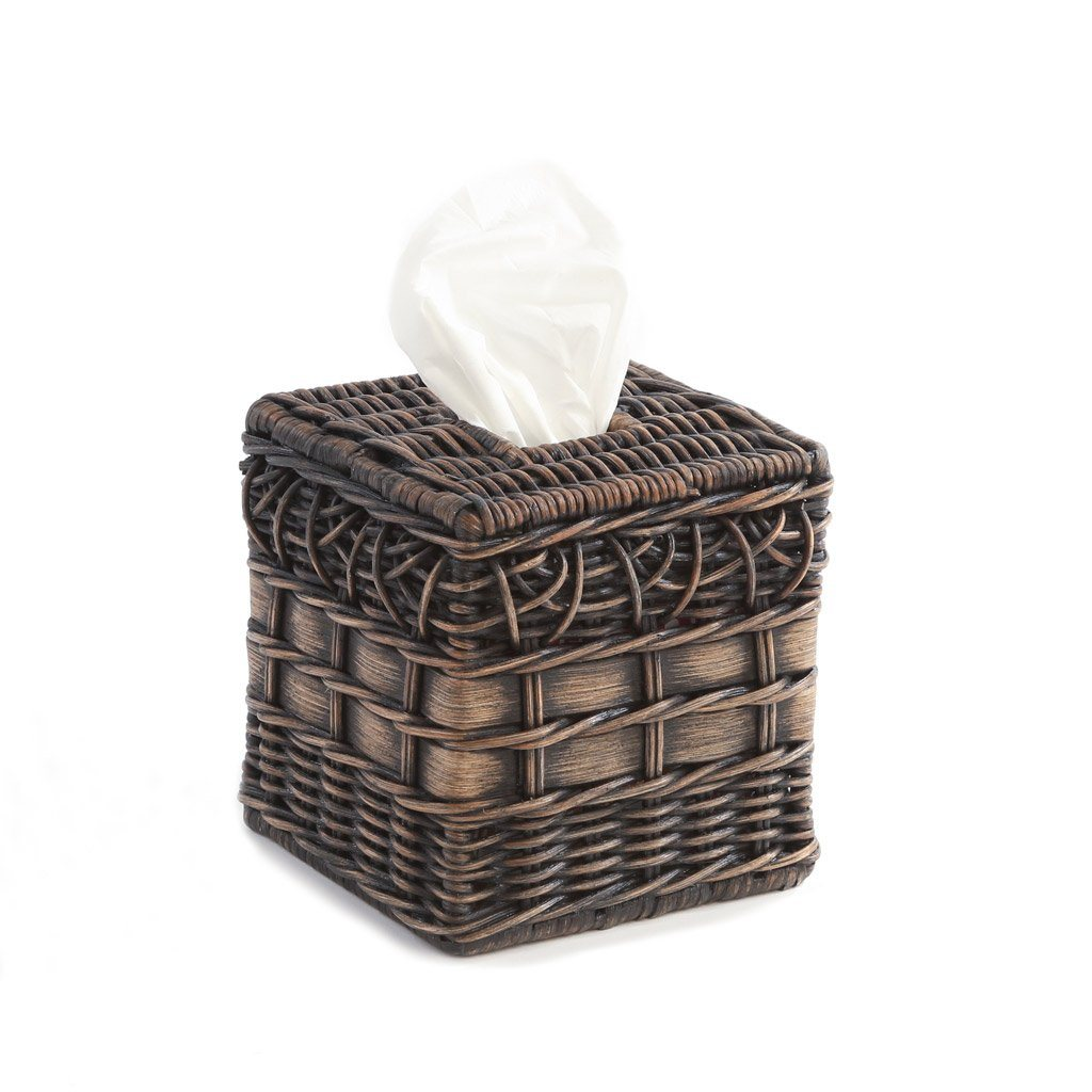 Boutique Wicker Tissue Box Cover
