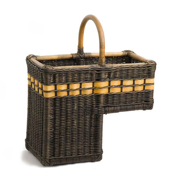 Wicker Stair Step Basket The Basket Lady