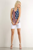 Rustic Stars & Stripes Racerback Tank Top-5