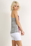 Rustic Stars & Stripes Racerback Tank Top-3