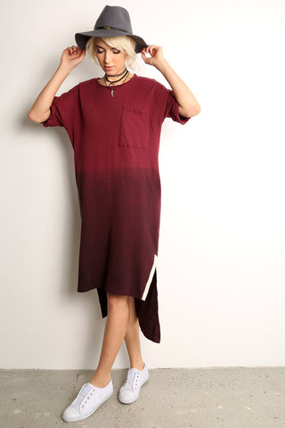 Step Hem Oversized Dress-1
