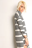 Sailor Striped Scooped Short Dress-5