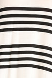 Sailor Striped Scooped Short Dress-6
