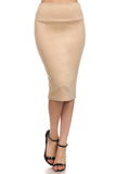 Kerry - Basic Bodycon Pencil Skirt