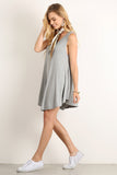 Karina - Timeless V-Neck Sleeveless Tunic Top