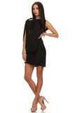 Little Black Asymmetrical Dress-1