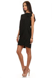 Little Black Asymmetrical Dress-6