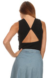 Anita - Cut Out Back Top