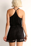 Hilary - Cross Over Bodice Romper