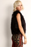 Veronica - Faux Fur Hook On Vest