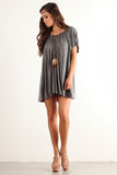 Angel Flared Oversized Fit Short Dress-18
