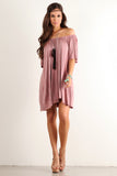 Angel Flared Oversized Fit Short Dress-1
