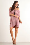 Angel Flared Oversized Fit Short Dress-2
