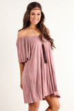 Angel Flared Oversized Fit Short Dress-4