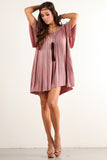 Angel Flared Oversized Fit Short Dress-8