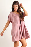 Angel Flared Oversized Fit Short Dress-9