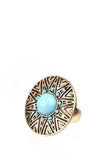 Sundial Adjustable Fashion Ring-1