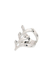 XX Silver Fashion Ring