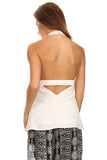 Low Back Halter Top-5