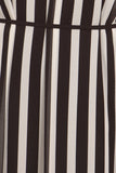 Vertical Striped Maxi Dress-6