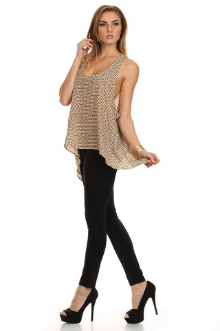 Spots and Stripes Flowy Tank-5