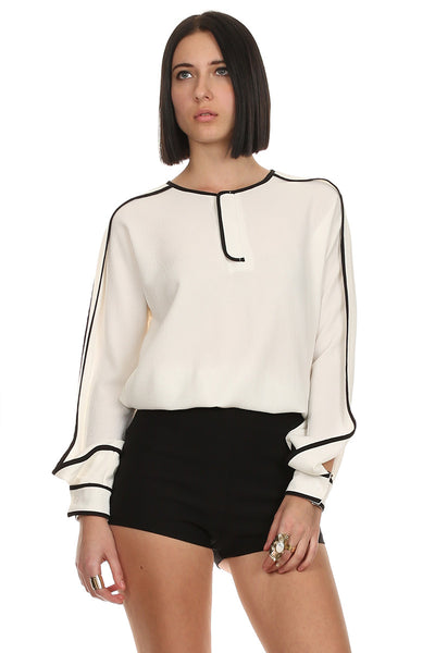 Taylor Long Sleeve Blouse-2