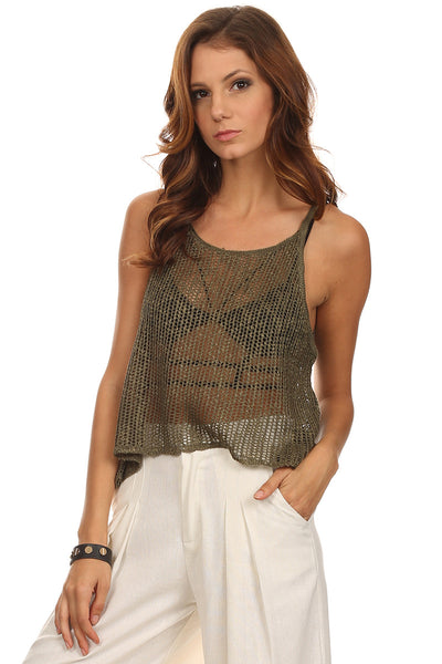 Low Gauge Crochet Tank-8