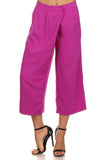 Wide Leg Culottes Pants-2