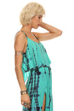 Tie Dye Crop Top and Maxi Skirt Set-6