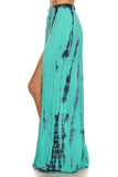 Tie Dye Crop Top and Maxi Skirt Set-8