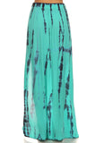 Tie Dye Crop Top and Maxi Skirt Set-9