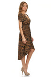 Geo Printed High-Low Dress-4